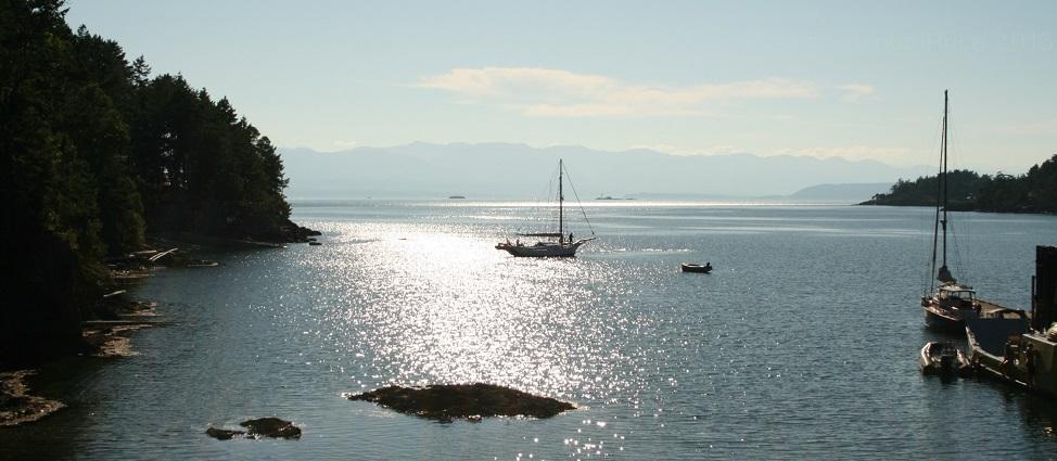 Lasqueti Island view